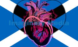 'Heart Scot' by Imaginary Media Images