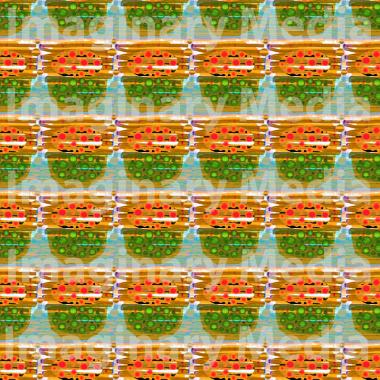 'Ttiruok' Pattern 1 - Designed by Imaginary Media Images