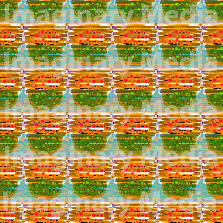 'Ttiruok' Pattern 1 - Designed by Imaginary Media Images