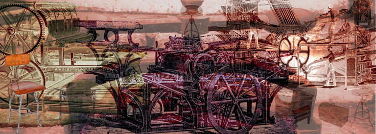 Mechanical Landscape by Imaginary Media