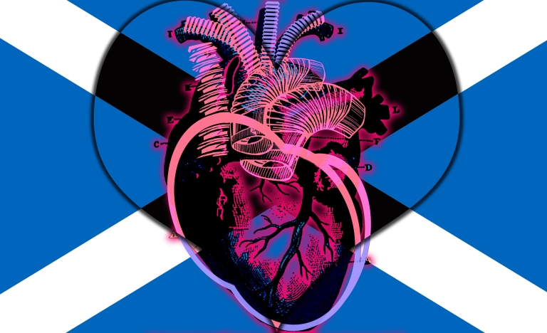 Hearts of Hearts - Hartland Scotland: Hartlands Collection by Imaginarymediaimages (IMI)